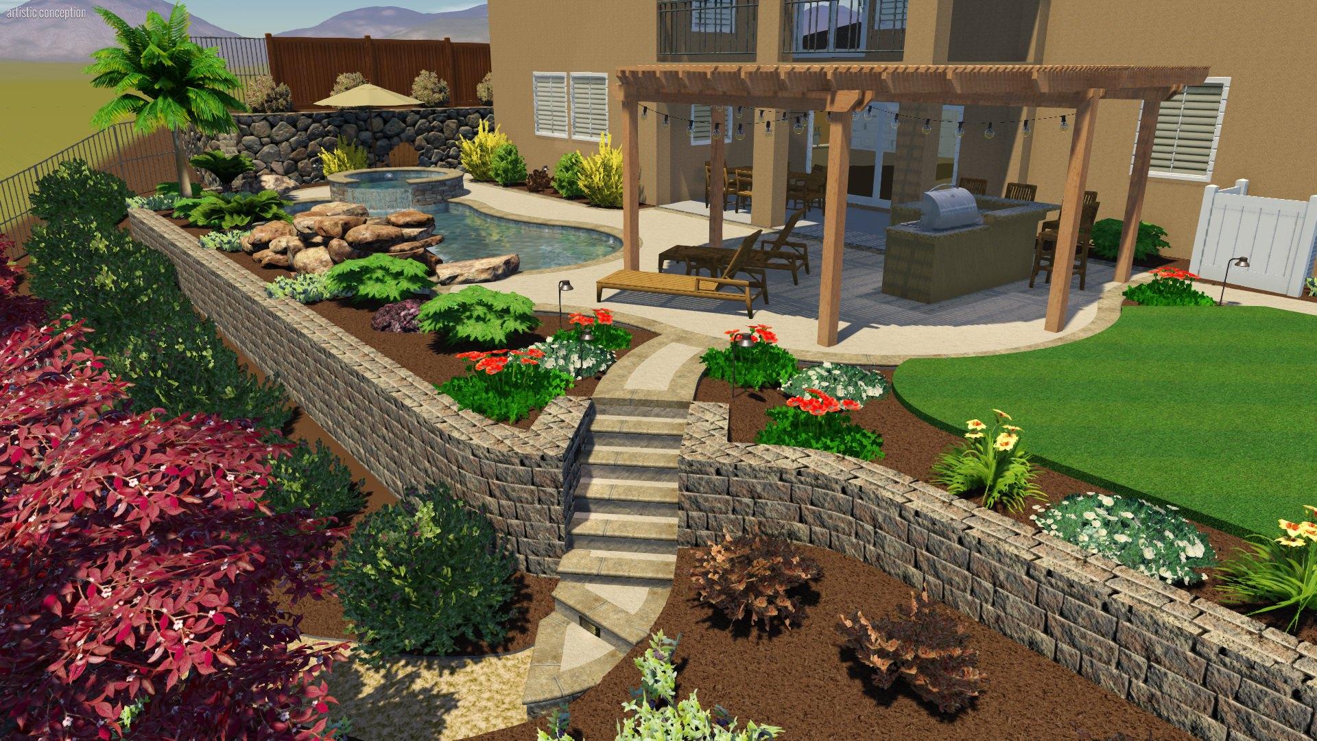 Landscape Design Petretti Landscape Services Expert Design Service